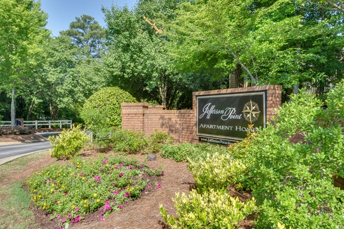 Jefferson Point Apartments, 66 Jefferson Pkwy, Newnan, GA 30263 - Front Entrance