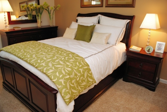 Jefferson Point Apartments, 66 Jefferson Pkwy, Newnan, GA 30263 - Guest Bed